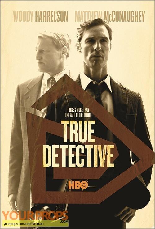 True Detective original movie prop