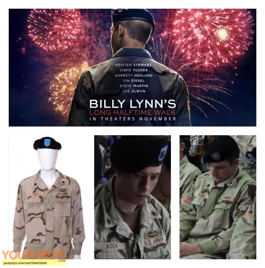 Billy Lynn s Long Halftime Walk original movie costume