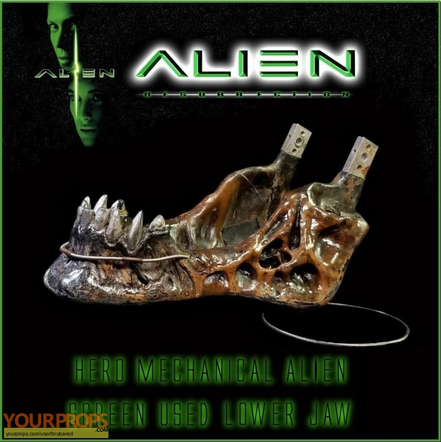 Alien  Resurrection original make-up   prosthetics