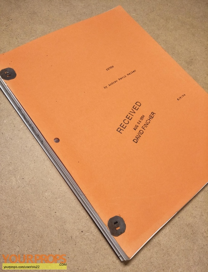 Seven original production material