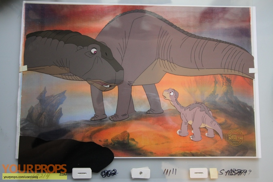 the land before time original production material