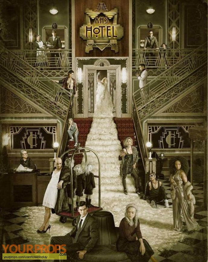 American Horror Story Hotel original movie prop