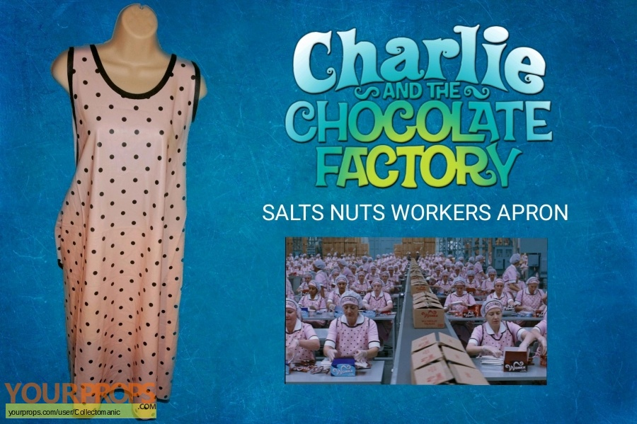 Charlie and the Chocolate Factory original movie costume