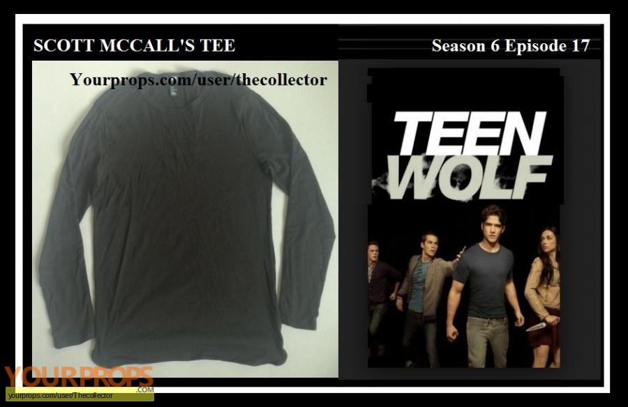 Teen Wolf original movie prop