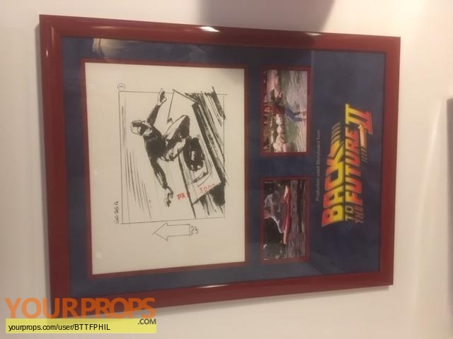 Back To The Future 2 original production material