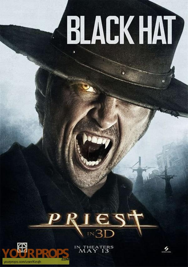 Priest original movie prop