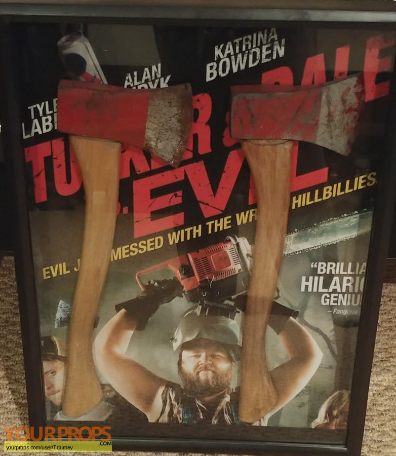 Tucker and Dale vs Evil original movie prop