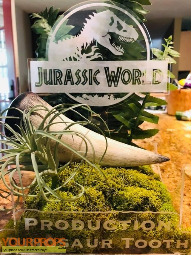 Jurassic World original movie prop