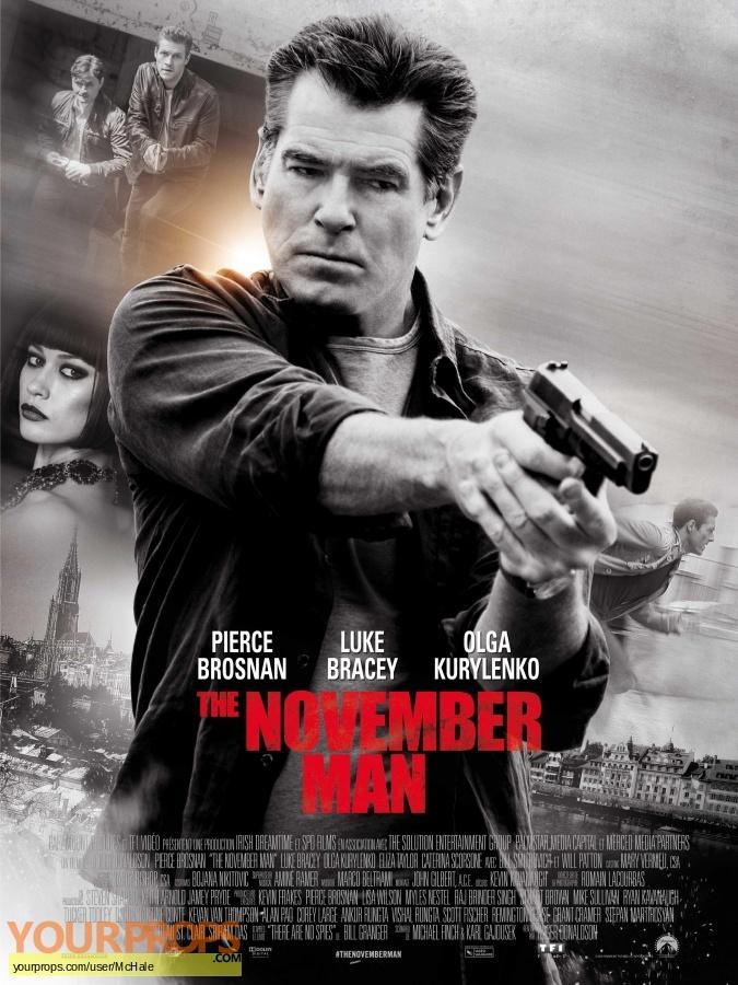 The November Man replica movie prop