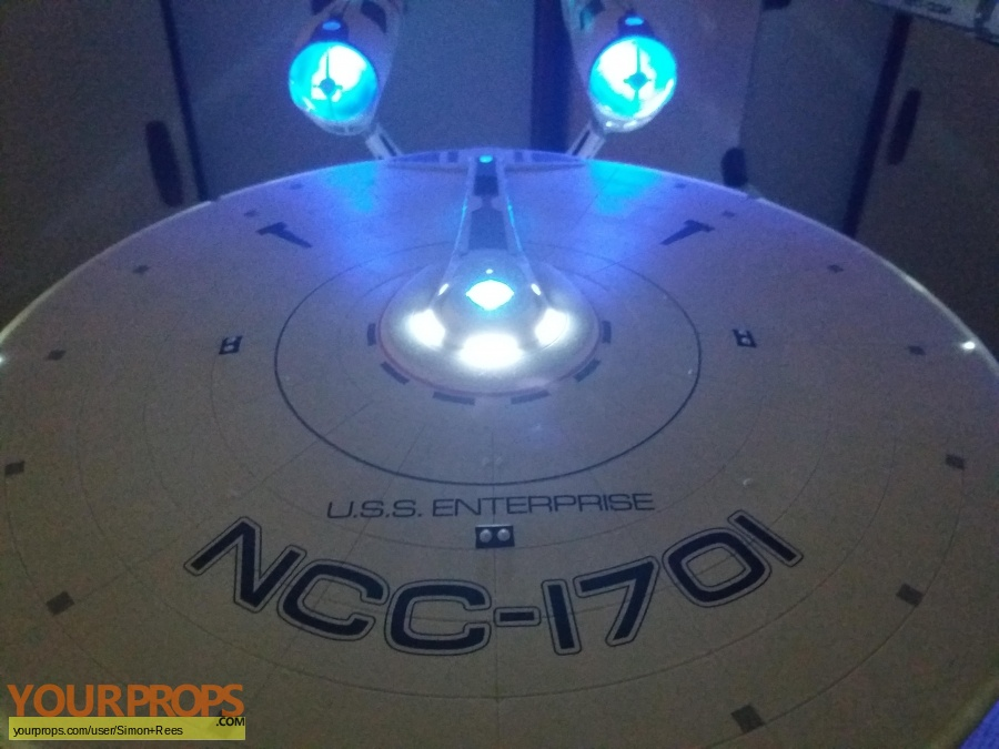 Star Trek made from scratch model   miniature