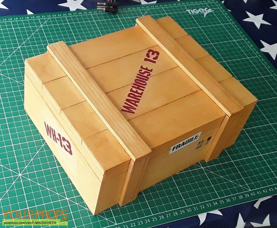 Warehouse 13 made from scratch movie prop