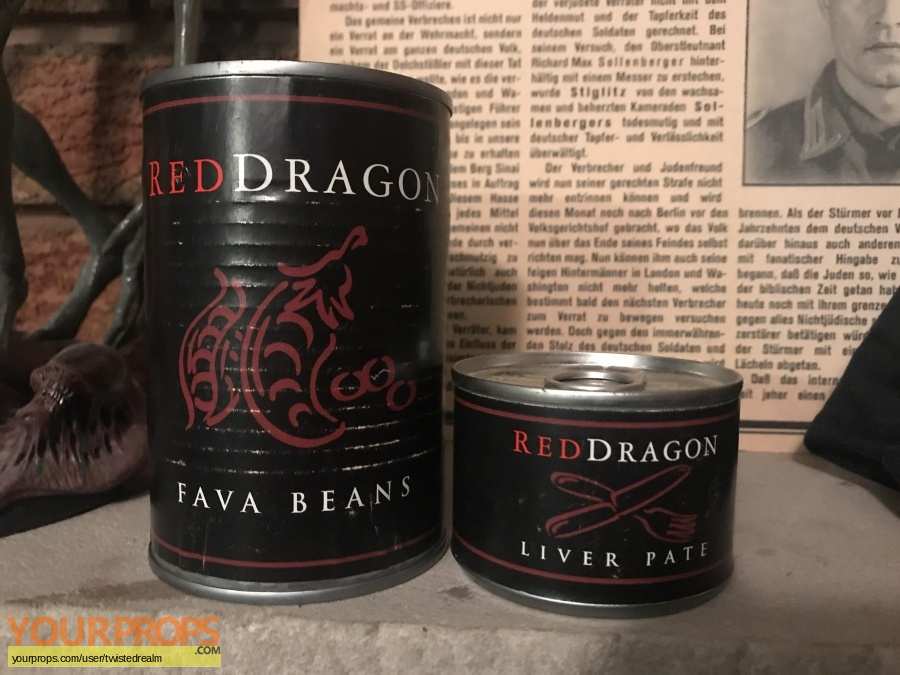 Red Dragon original production material