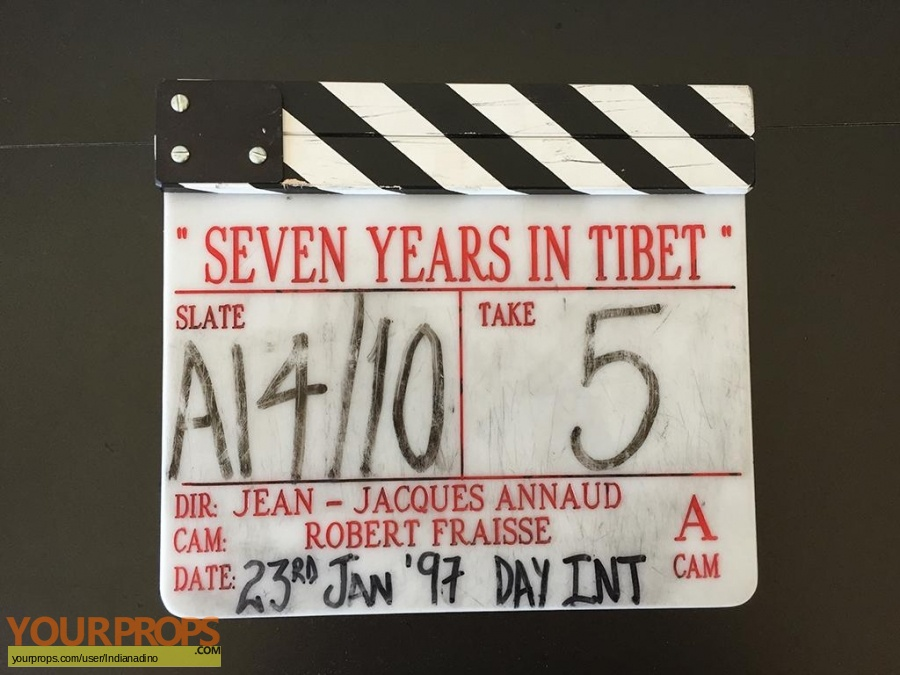Seven Years In Tibet original production material