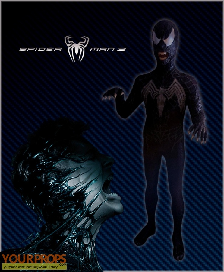 Spider-Man 3 original movie costume