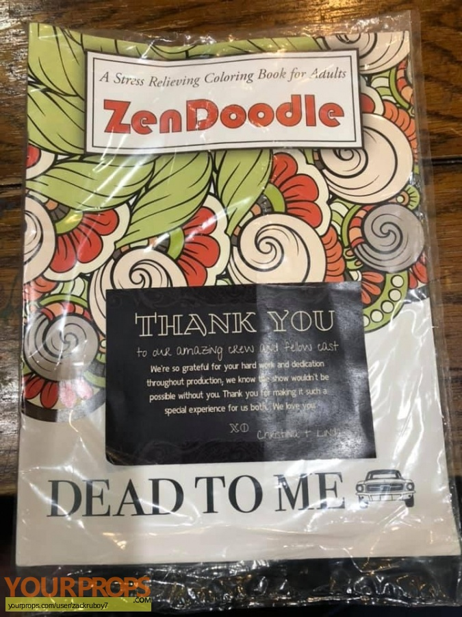 Dead To Me original film-crew items