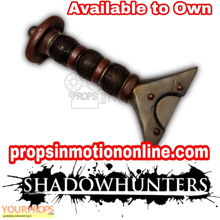 Shadowhunters original movie prop