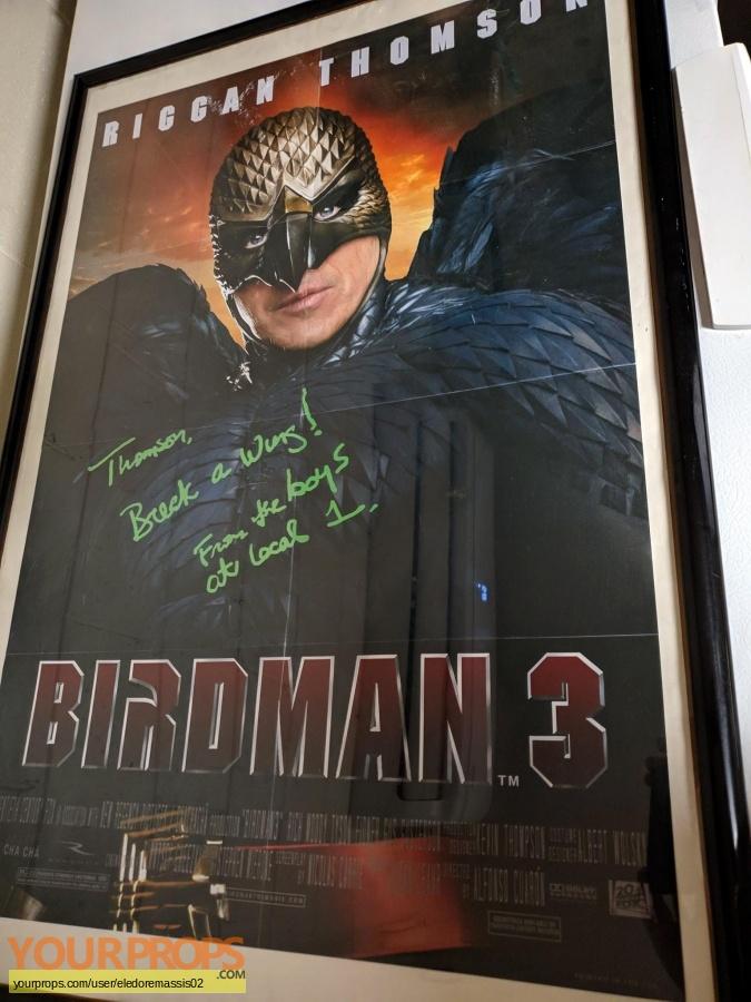 Birdman replica movie prop