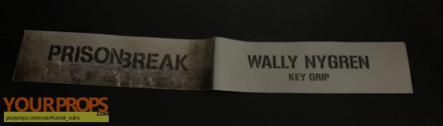 Prison Break Resurrection original production material