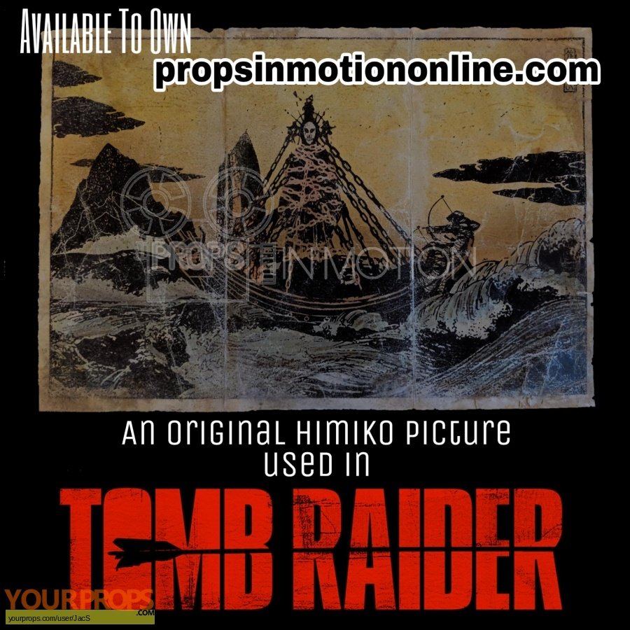 Tomb Raider original movie prop