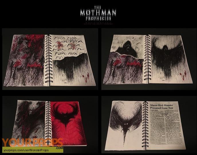 The Mothman Prophecies replica movie prop