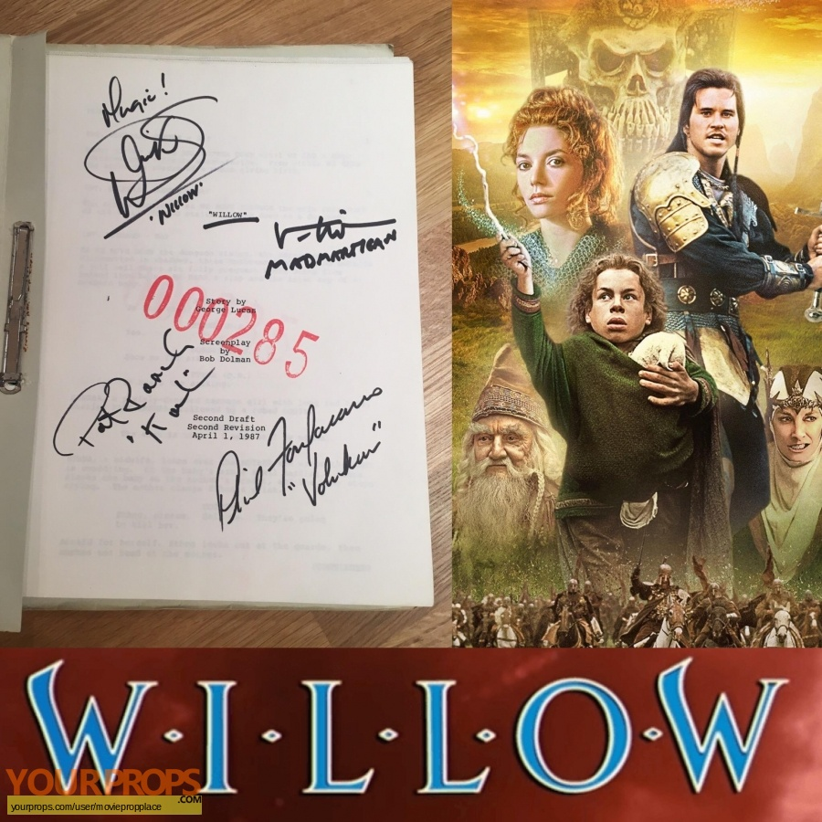 Willow original production material