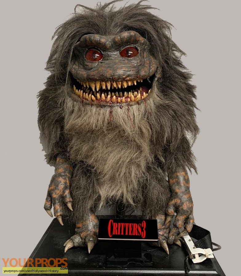 Critters 3 original movie prop