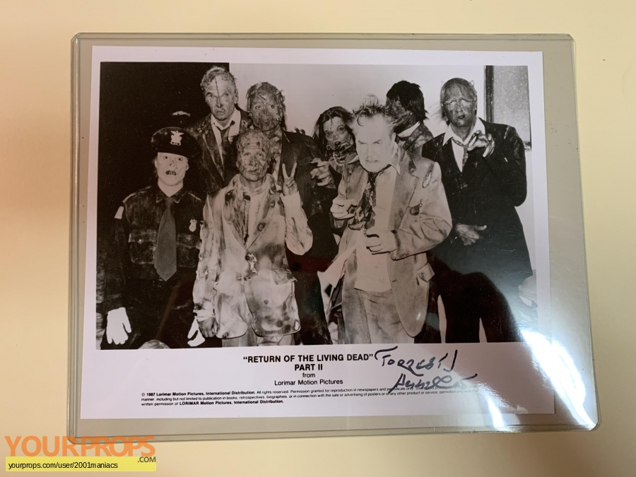 Return of the Living Dead  Part 2 original movie costume