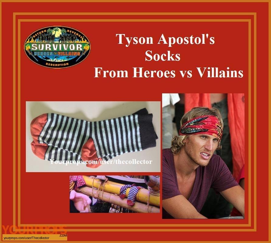 Survivor Heroes vs Villains original movie prop