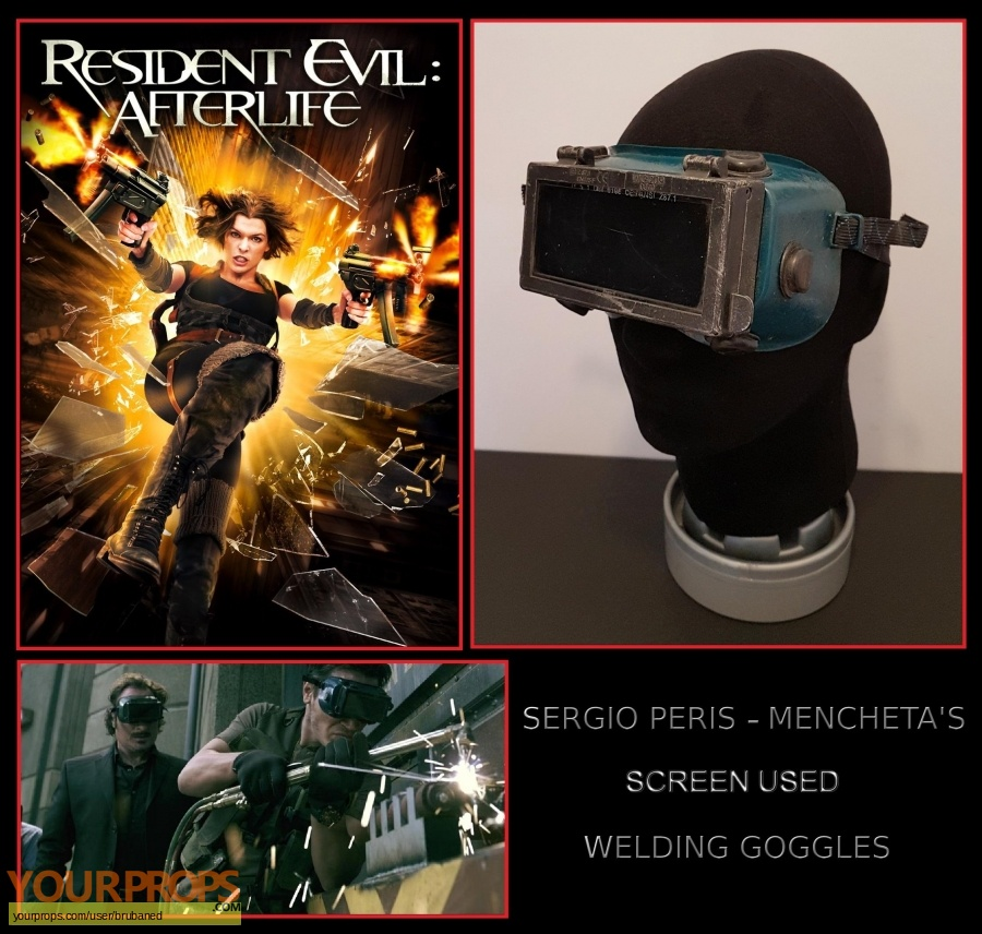 Resident Evil  Afterlife original movie prop