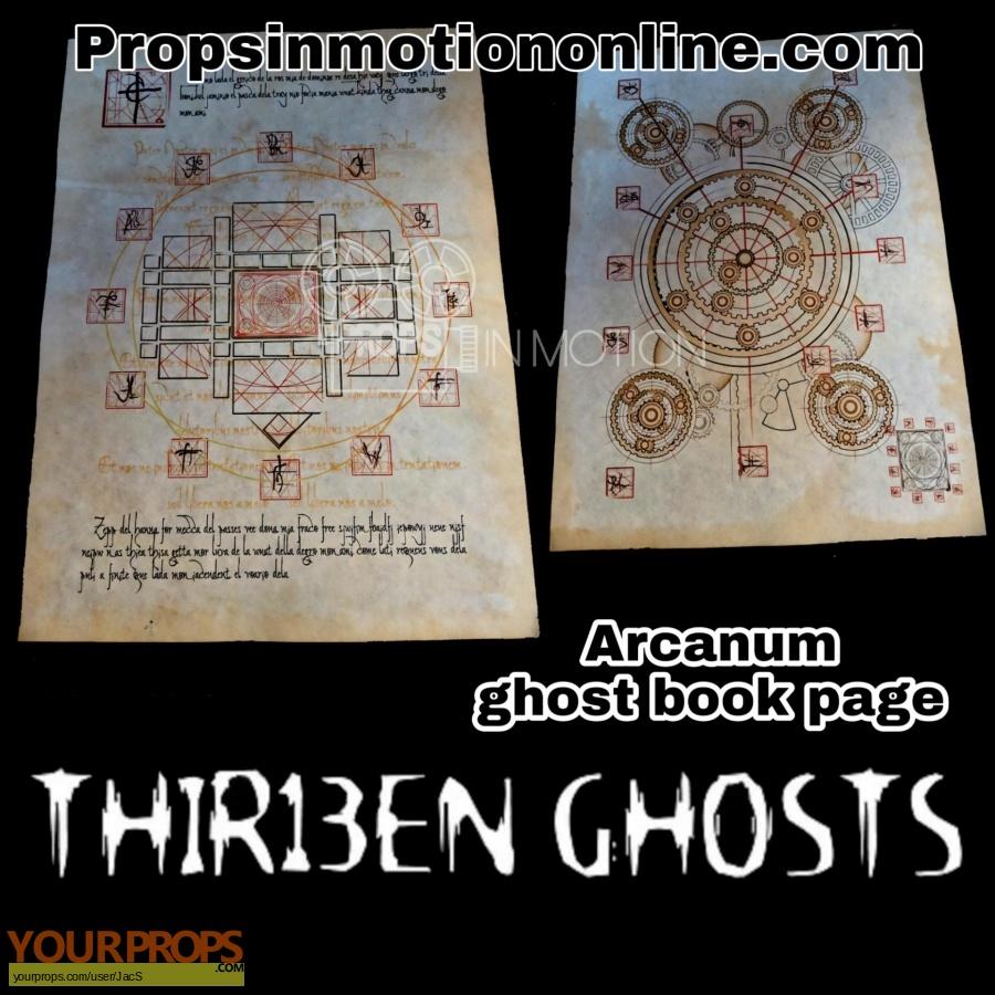 Thirteen Ghosts original movie prop
