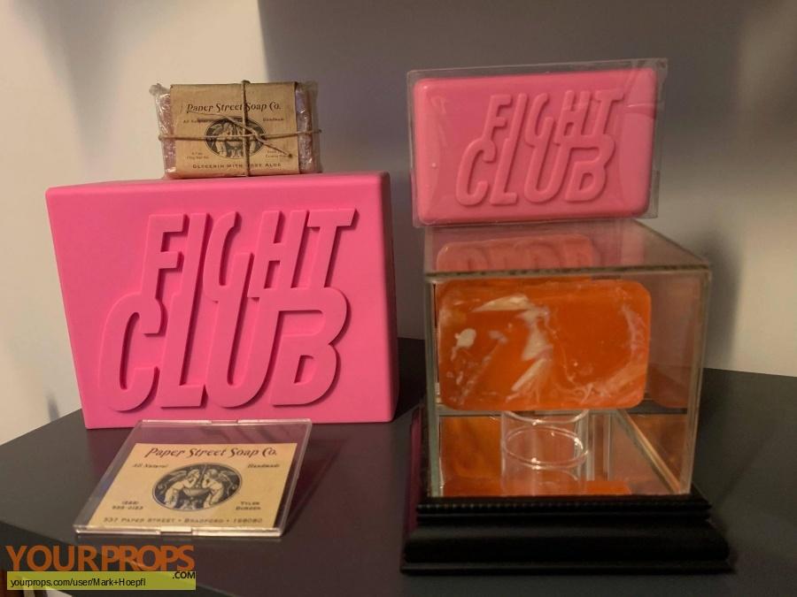 Fight Club original movie prop
