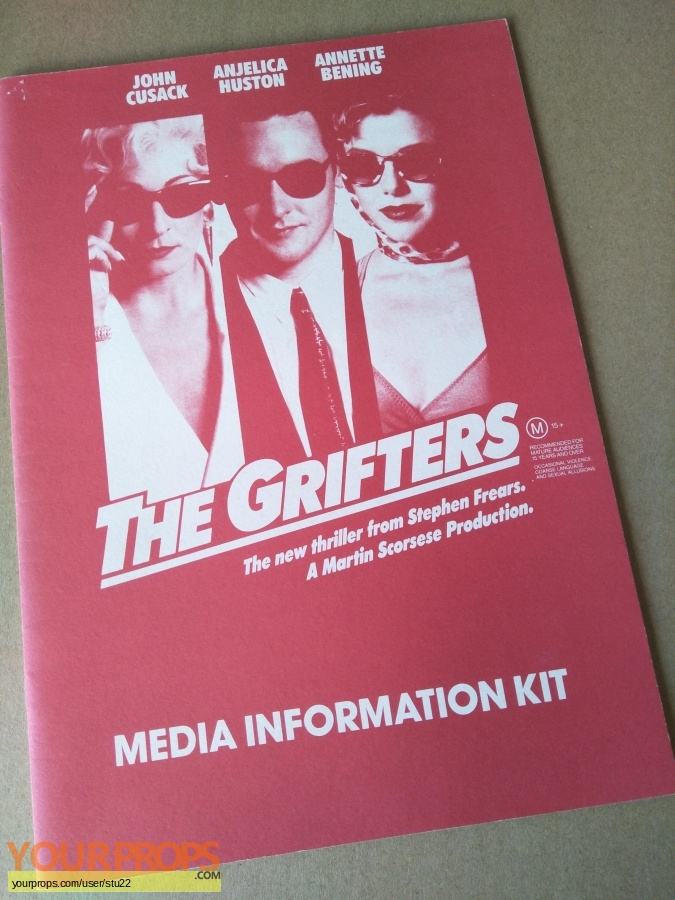 The Grifters original production material