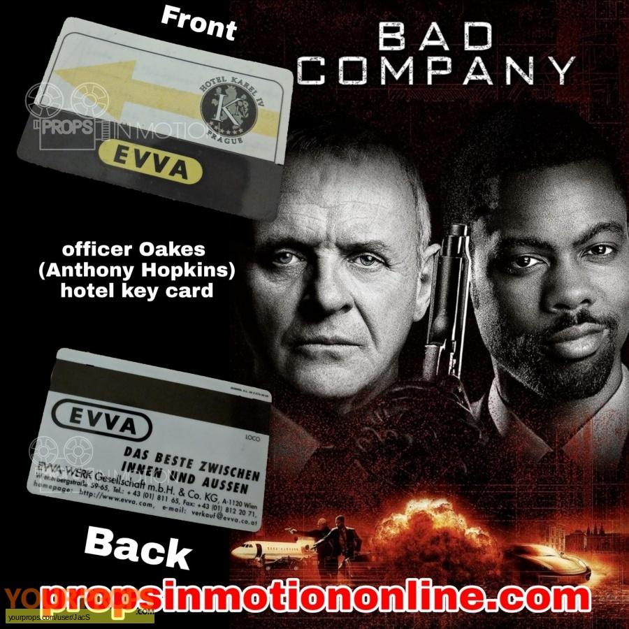 Bad Company original movie prop