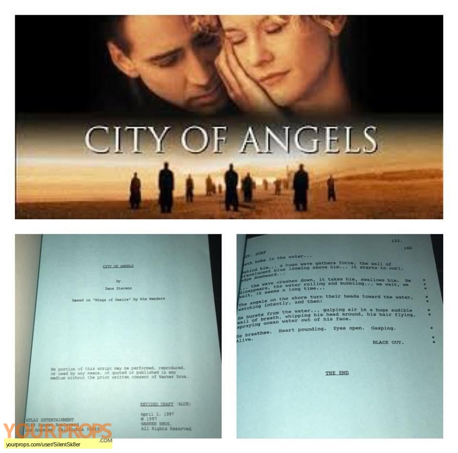 City of Angels original production material