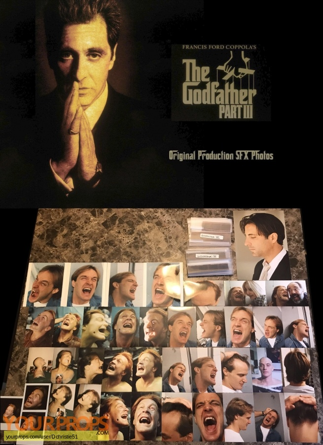 The Godfather  Part III original production material