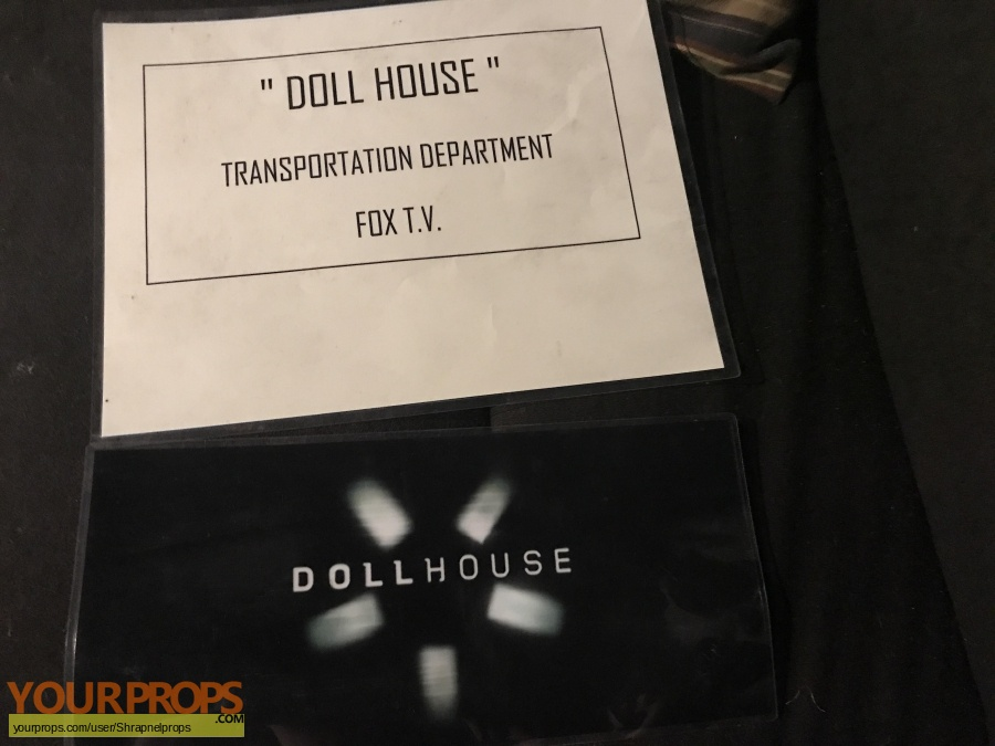 Dollhouse original production material
