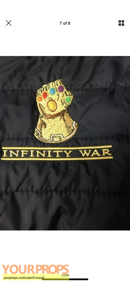 Avengers  Infinity War original film-crew items
