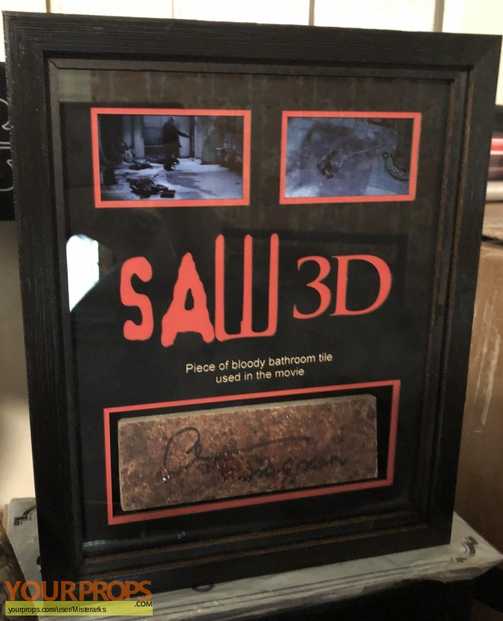 Saw 3D original set dressing   pieces