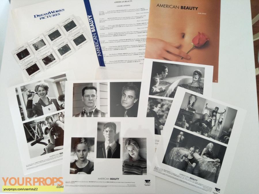 American Beauty original production material