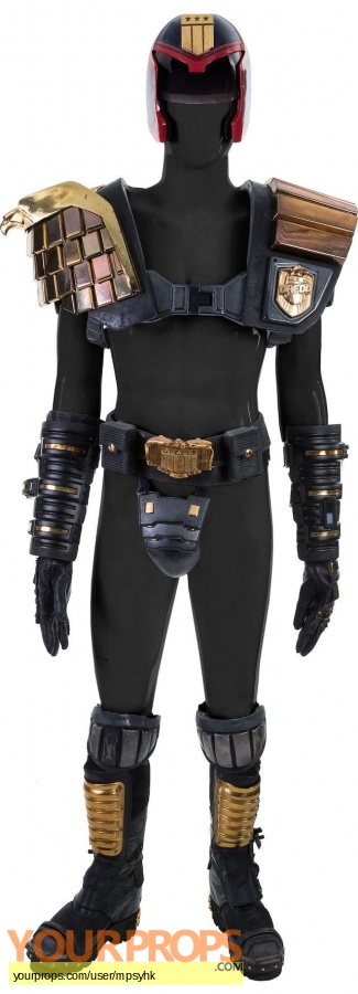 Judge Dredd original movie costume