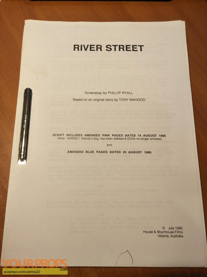 River Street original production material