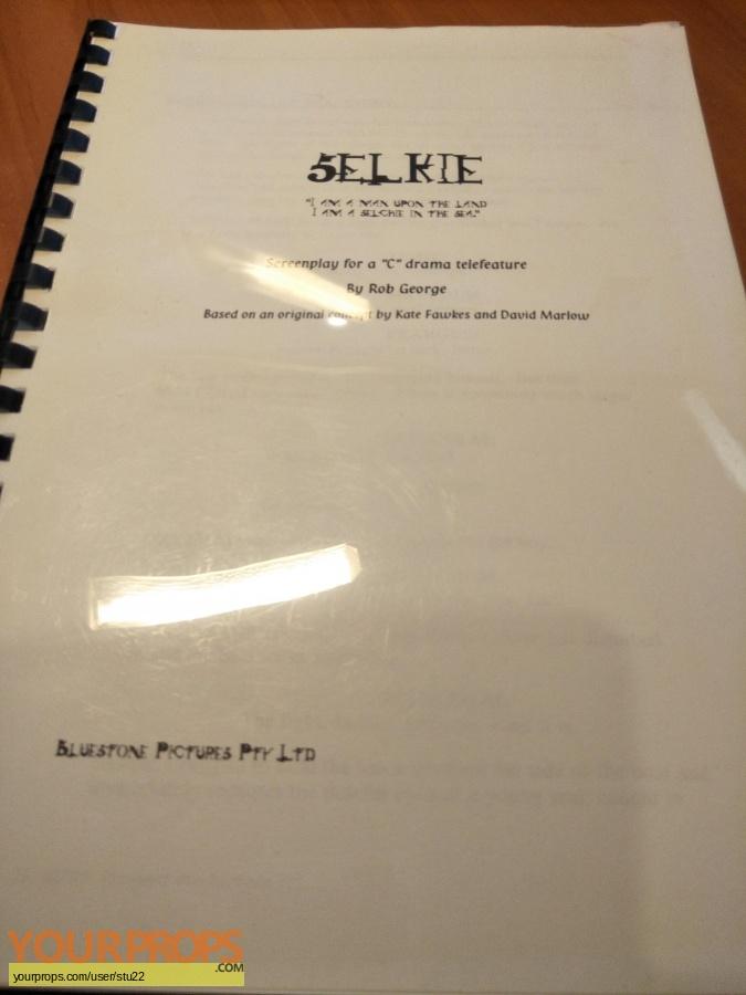Selkie original production material