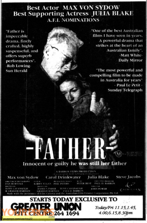 Father original production material