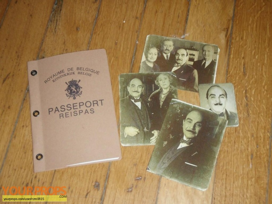 Agatha Christie  Poirot replica movie prop