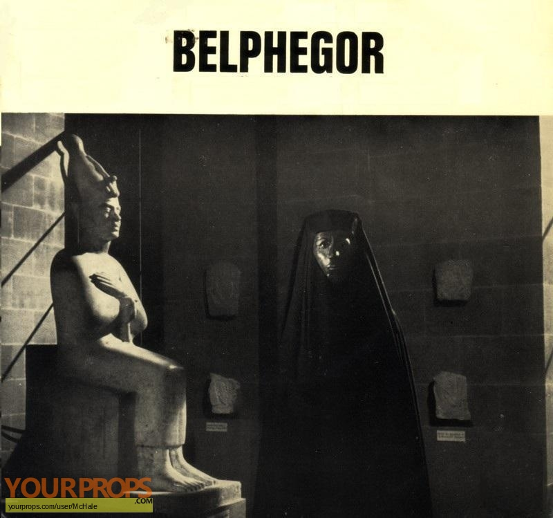 Belphegor ou le Fantome du Louvre replica movie prop