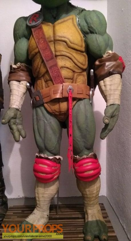 Ninja Turtles  The Next Mutation original movie prop