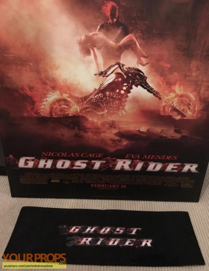 Ghost Rider original production material