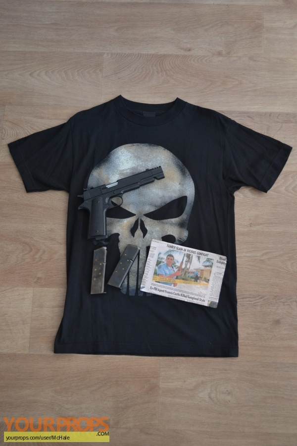 The Punisher replica movie prop
