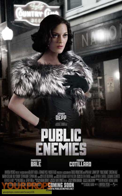 Public Enemies original movie prop