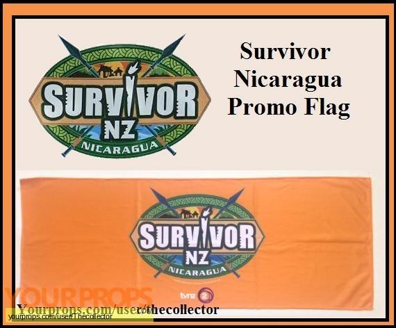 Survivor New Zealand  Nicaragua original set dressing   pieces